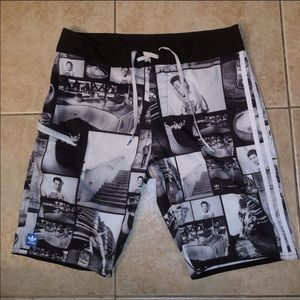 $55 RARE Adidas Trefoil Shorts J. Grant Brittain